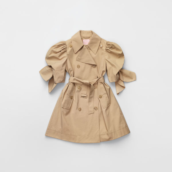 H&M Puff-sleeved Trenchcoat $249.00