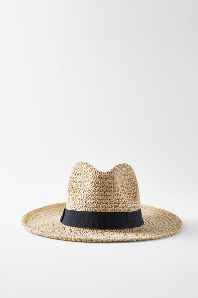 Zara Hat with Band $39.90