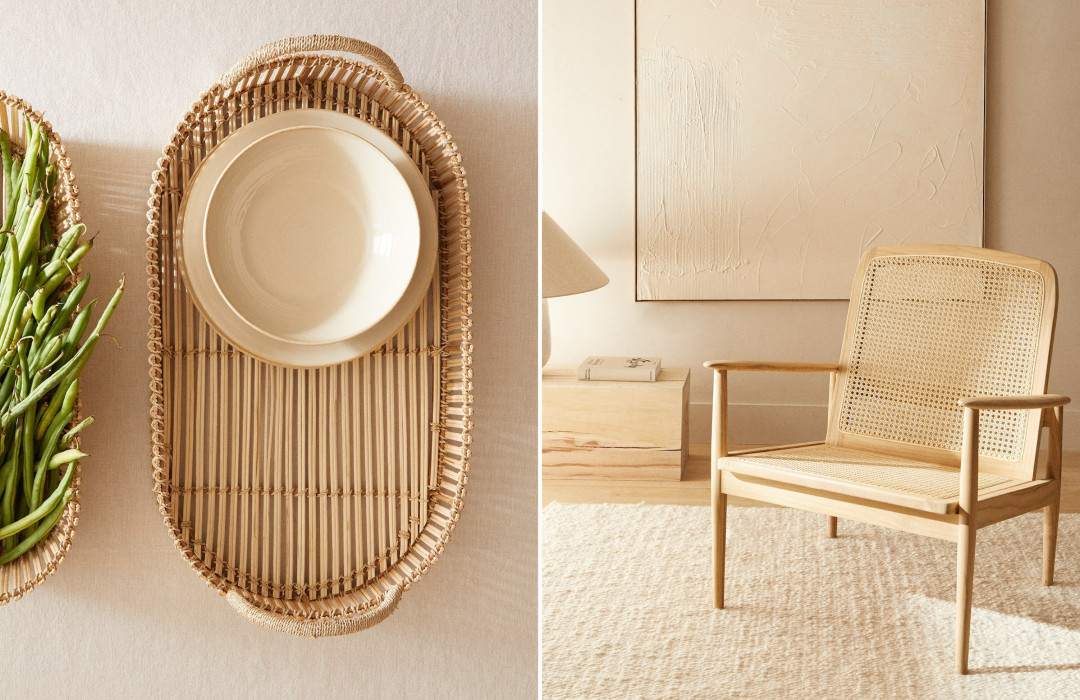 The latest must-have rattan interior pieces
