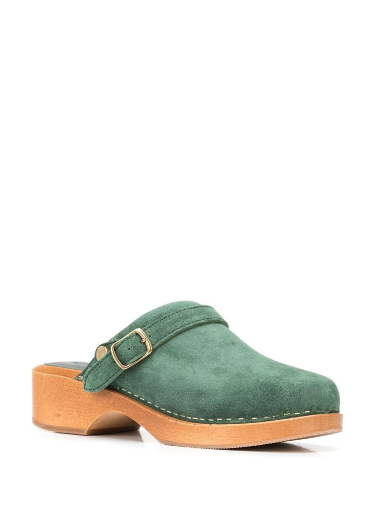 Re/Done Leather Clogs $415.00