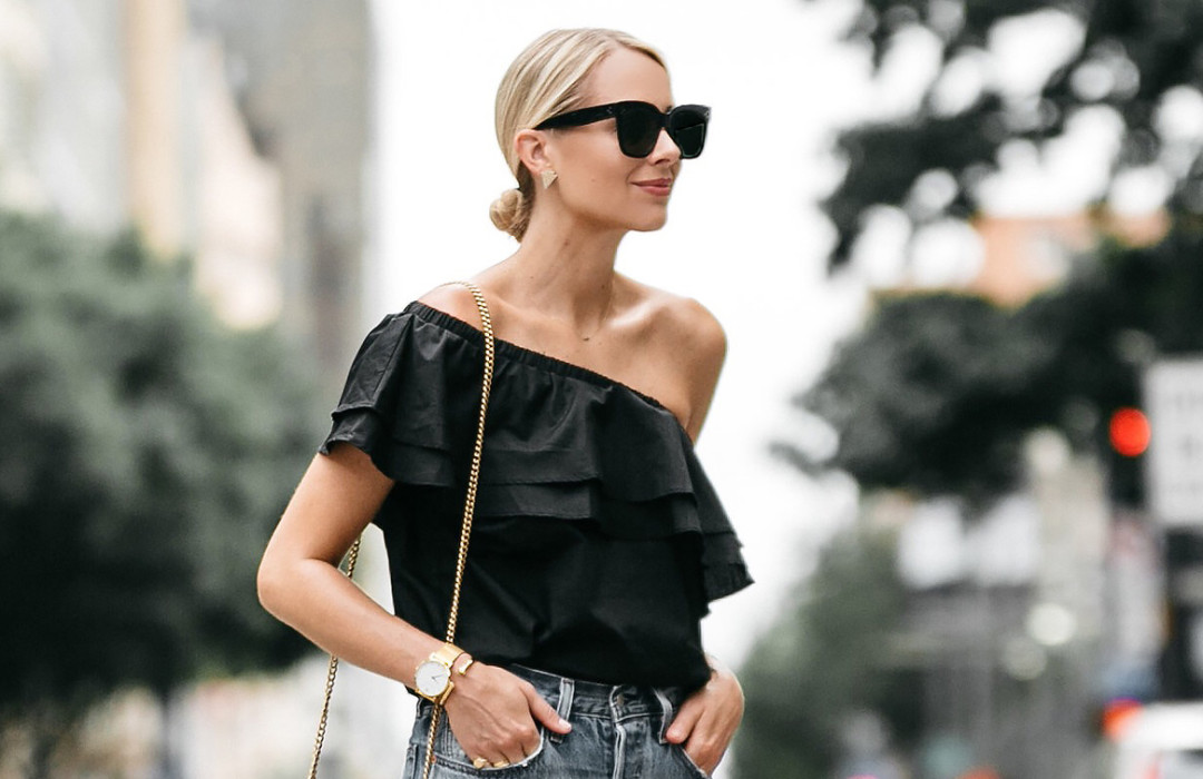 The one shoulder pieces that instantly will elevate any look
